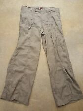 Blessing Brother Green Cargo Style Light Pant Women's 32