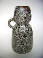 Keramik Vase Unterstab Design 60s Studiokeramik Art Pottery Fat Lava Era vintage