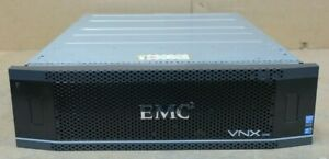 "EMC VNX 5400 Storage Array VNXB54DP25 25x 300GB 15K 2.5"" 2x Controllers 2x PSU"