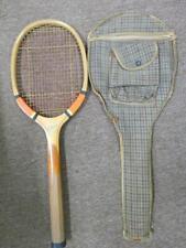 c. 1920's E Kent Ambassador Tennis Racket w/ Case