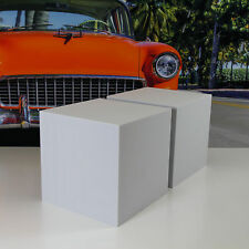 2 Akustik Würfel Schall Lärm Absorber Dämmung 40x40x40 aus Basotect® G+ Hellgrau