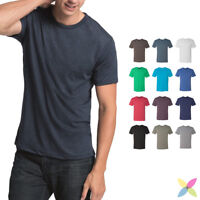 Next Level Mens Tri Blend Crew Neck Tee Soft & Stretchy T-Shirt XS-3XL - 6010