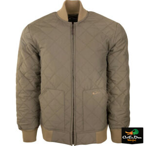 NEW DRAKE WATERFOWL QUILTED CLASSIC FULL ZIP JACKET COAT ANTIQUE SAGE