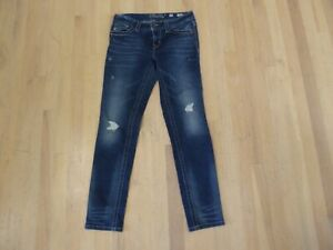 MISS ME Mid-Rise Skinny JEANS DEMIN Womens Size 28