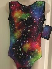 "NEW Stellar Leotard size 26"" age 5-6 by Zodiac Leos"