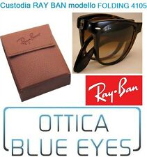 CUSTODIA CASE RayBan 4105 Folding 3479 Ray Ban 2176 OCCHIALI Sunglasses BOX