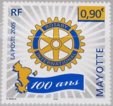 MAYOTTE 2005 177 214 Cent. Rotary International Emblem Wheel Charity Org MNH