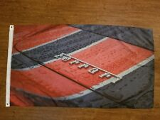 Ferrari Rain Flag Banner 3X5Ft California F430 Scuderia 458 F40 599 Gt 360 355
