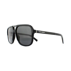 Dolce & Gabbana Sunglasses DG4354 501/87 Black  Grey Gradient