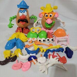 Vintage Mr. & Mrs. Potato Heads & Accessories ~ Lot of 50+ pieces