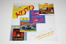 "KOTO - The Koto Mix - Jabdah (Megamix)-Ger 1987 - 12"" Maxi Vinyl Single washed"