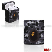 A Bathing Ape Bape Camo Case Cover For Apple Airpods (1st & 2nd Generation)