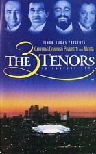 The 3 Tenors in Concert 1994 Audio Cassette, Carreras Domingo Pavaotti w/ Mehta