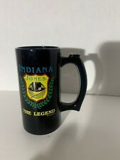 RARE VINTAGE INDIANA JONES THE LEGEND TALL COFFEE MUG