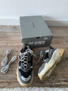 $975 NEW Authentic Balenciaga triple s multicolor sneakers EUR 43 US 10 RARE