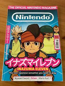 The Official Nintendo Magazine Issue 73 October 2011 Inazuma Eleven - VGCondtion