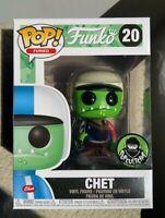 Green CHET #20 FANTASTIK PLASTIK Funko Pop Vinyl New in Box
