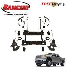 """Rancho RS6583B 4"""" Suspension Lift Kit For 2007-2013 Chevy Silverado 1500"""
