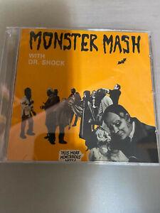 Monster Mash with Dr. Shock CD horror host Halloween Zacherley NEW