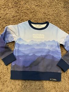 Gap National Geographic Kids Nature Sweatshirt Size 5 NWT