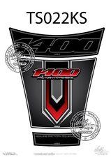 SUZUKI GSX 1400 réservoir Pad Noir / argent (ts022ks)