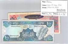 2 BILLETS LIBAN - 1000 ET 5000 LIVRES 1990 ET 1994