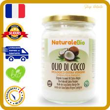Huile de Coco Bio Extra Vierge 500 ml Crue, Pressée a Froid 100% Organique Pure