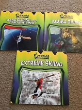 LOT OF 3 EXTREME SPORTS BOOKS