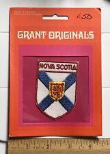 NIP Nova Scotia Provincal Crest Flag Canadian Province Canada Souvenir Patch