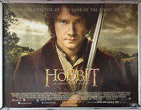 Cinema Poster: HOBBIT AN UNEXPECTED JOURNEY 2012 (Main Quad 13th Dec Wrong Date)