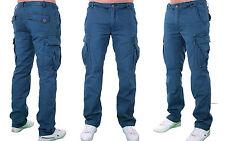 JET LAG Pantalón Cargo De Hombre Ejército Pantalones Trabajo Informales Vaqueros