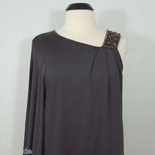 JALOUX  Women's Ocassion One Shoulder Beaded Kimono Blouse size M
