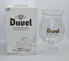 DUVEL BIERE verre !!! 3 litres !!! emballage d'origine NEUF
