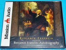 AUTOBIOGRAPHY OF BENJAMIN FRANKLIN UNABRIDGED AUDIOBOOK ENGLISH ON 7 AUDIO CDs