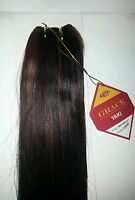 "HUMAN HAIR NEWYAKI WEAVING/12""/ 14""/ GRACE YAKI/STRAIGHT/WEFT"