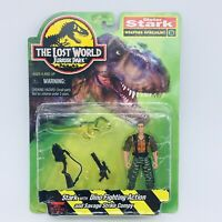 THE LOST WORLD JURASSIC PARK Vintage Dieter Stark Figure Kenner HASBRO 1997