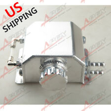 Universal 1L Aluminum Coolant Radiator Overflow Recovery Water Tank Bottle US