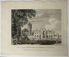 Grabado siglo XVIII MICHAEL ANGELO ROOKER 1775 SANDBY Real Militar
