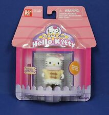"Sanrio Bandai At Home with Hello Kitty 2"" Figure  in Winter Coat MOC 2003 Cute!"
