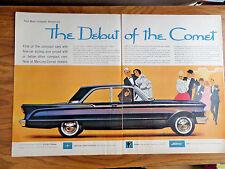 1960 Mercury Comet Ad 1960 Parke-Davis Ad