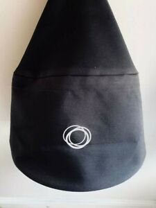 Bugaboo Bee Plus Hood Canopy Fabric Cover (Black) Canvas Sunshade Material