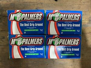 Mrs Palmers Surf Wax - Cold - Pack of 4 x 70g Bars