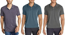 Eddie Bauer Mens Contour Performance Slub Polo T-Shirt