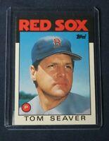 1986 Topps Traded TOM SEAVER #101T Boston Red Sox MINT Free Ship! BOGO! Lot of 2