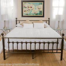 Bradford Cal King Dark Copper Gold Bed Frame. King Beds and Bed Frames   eBay