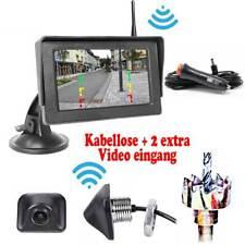 Kabellose Funk Rückfahrkamera inkl. Monitor KFZ Auto Bus Transporter Car Camera
