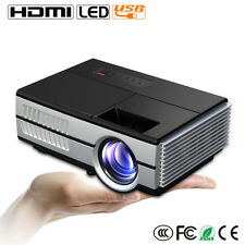 Portable LCD LED Mini Projector HD Home Cinema 1080p Video Xbox HDMI USB VGA UK