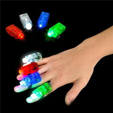 LOT OF 96 LASER FINGER LIGHTS LAMPS BEAMS MULTI COLOR PARTY CLUB FREE SHIPPING