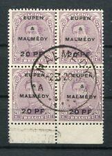 Eupen & Malmedy 4 Bei unità con TIMBRO DI REGISTRAZIONE timbrato (Z9360