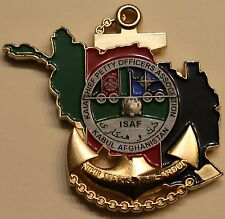 Kabul International Airport Afghanistan ISAF Chiefs Mess Navy Challenge Coin
